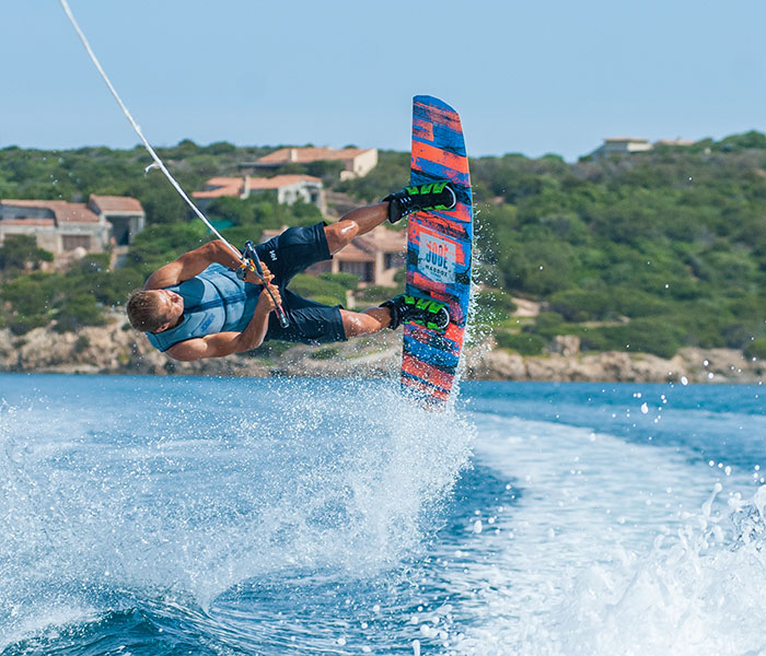 Wakeboarding Holiday Activities at Casa Pantaleo Sardinia