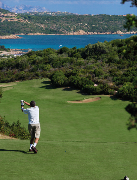 Golf Activities near Casa Pantaleo Luxury Self Catering Villa Sardinia